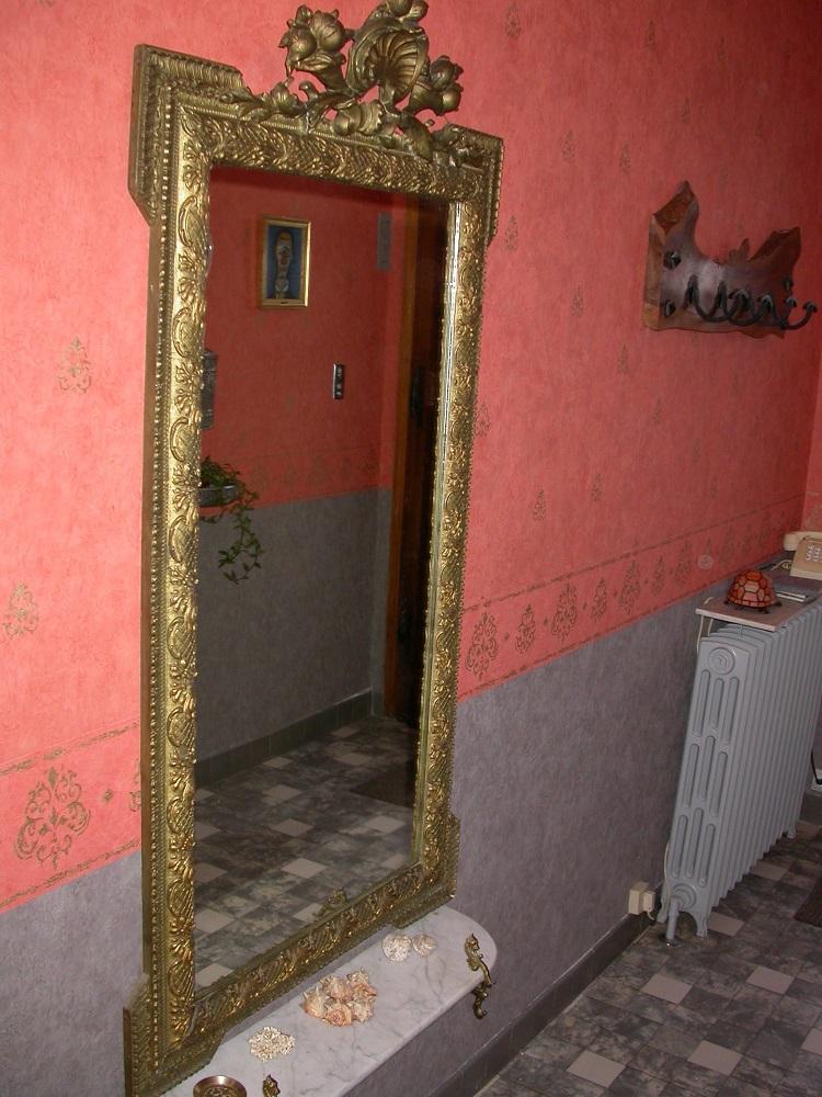 R novation couloir hall d 39 entr e tapisserie jean for Tapisserie entree