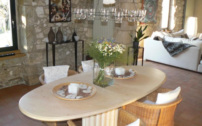 Restauration de ferme «Pose de plaques de plâtre + Finitions décoratives».